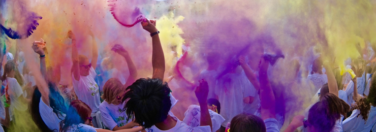 Color Run Kickoff