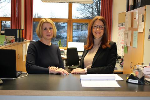 Sekretärinnen des Schulzentrums