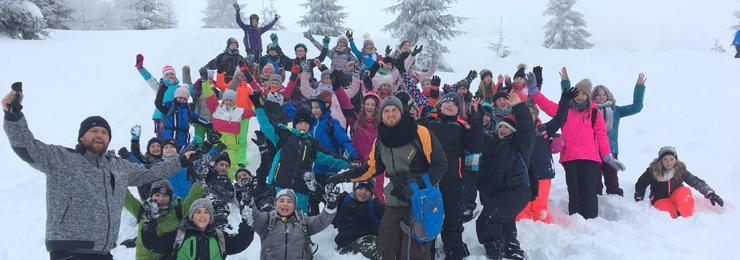 Banner Wintersporttag